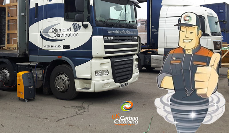 Commercial Fleet Engine Carbon and DPF Cleaning | UKCC Auto
